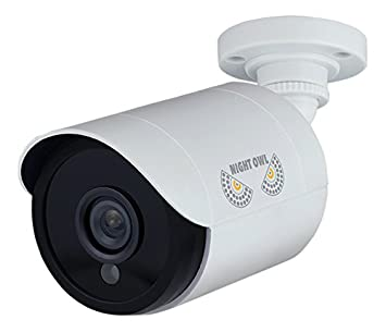 Night Owl Security, 2 Pack Add On 1080p HD Wired Security Bullet Cameras White