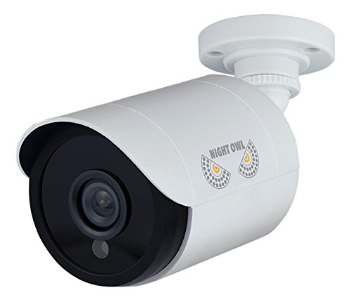 Analog System (Night Owl Security, 2 Pack Add–On 1080p HD Wired Security Bullet Cameras (White))