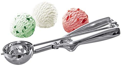sehr robust /& langlebig 4 cm Edelstahl Hochwertiger Gastro Eisportionierer 40mm Edelstahl Profi Qualit/ät