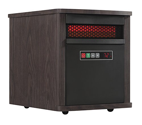 Duraflame 9HM9293-PM83 Portable Infrared Quartz Space Heater, Mahogany Portable Infrared Quartz Space Heater, Mahogany Infrared Twin-Star International