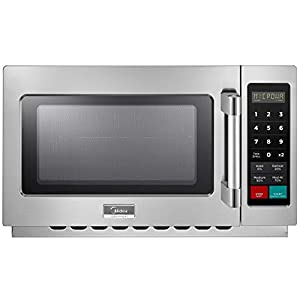 Midea Equipment 1034N1A Stainless Steel Countertop Commercial Microwave Oven, 1000W 7