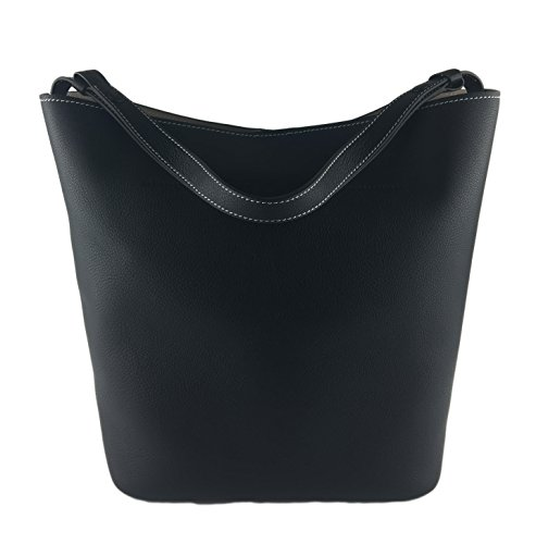 Leather Logo Burch Hobo Black Tory Perforated PUARx