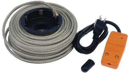 Easy Heat NPRO-50 50 Ft. Reel Heat Cable Kit by Easy Heat Inc