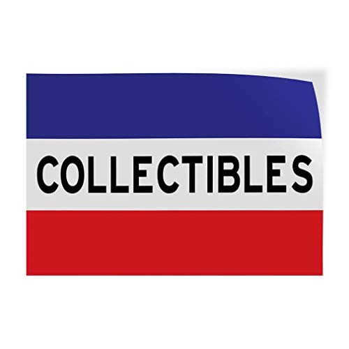 Collectibles Indoor Store Sign Vinyl Decal Sticker 8""