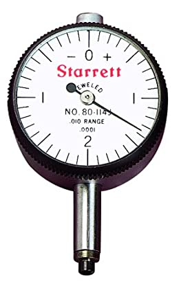 Starrett Dial Indicator >> Starrett Miniature Dial Indicator Inch 0 2185 Stem Diameter Spot