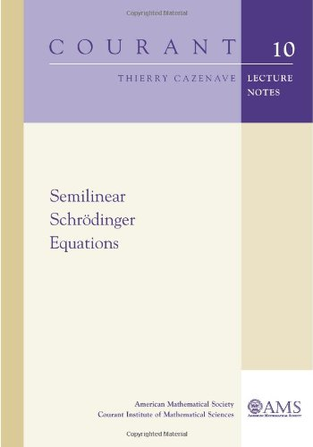 Semilinear Schrodinger Equations (Courant Lecture Notes In Mathematics)
