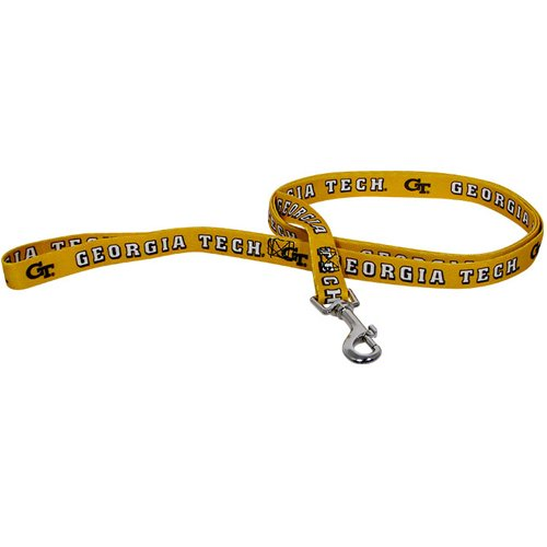 NCAA Georgia Tech Yellow Jackets Pet Lead, Small, Team Color