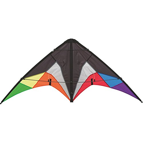 HQ Beach and Fun Sport Kite (Quickstep II Black Rainbow) by HQ Kites and Designs