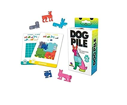 Brainwright Dog Pile The Pup Packing Puzzle (48 Pieces)