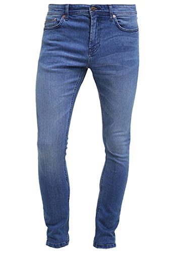 Only & Sons ONSEXTREME CAMP Herren Jeanshose Hose Jeans Skinny Fit - light blue denim W33 L32