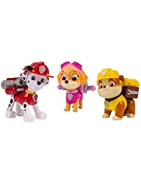 Nickelodeon Paw Patrol - Action Pack Pups 3pk Figure Set Marshal, Skye, Rubble BOBEBE Online Baby Store From New York to Miami and Los Angeles