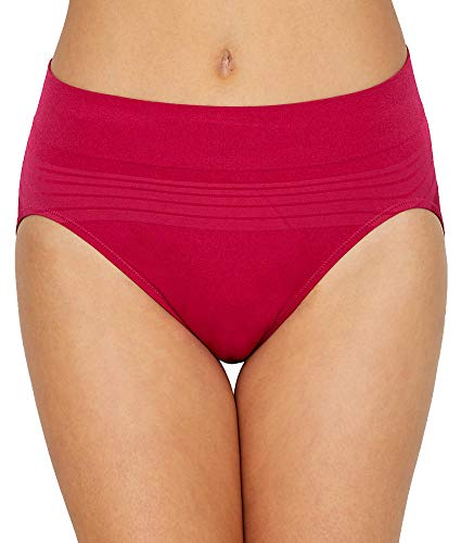 Warner's No Pinching No Problems Seamless Hi-Cut Panty (RT5501P) 2X/Vivacious ()