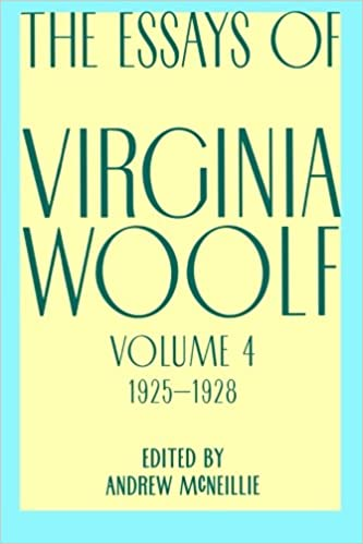 com essays of virginia woolf vol  com essays of virginia woolf vol 4 1925 1928 9780156035224 virginia woolf books