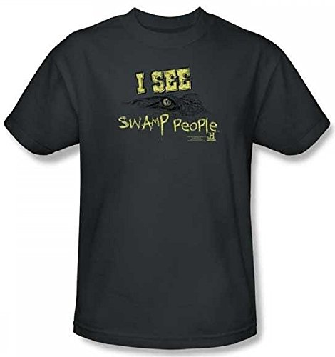 People Person Adult T-shirt (Swamp People I See Swamp People Adult T-Shirt History Channel Medium)