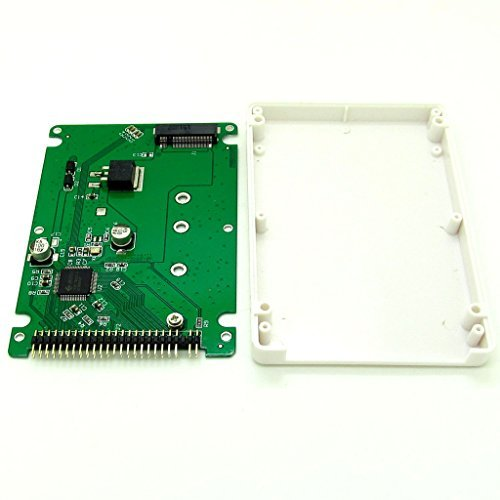 M.2 NGFF SATA SSD to 2.5 IDE 44pin Converter Adapter with Case for Computer Accessries - Case G4 Powerbook