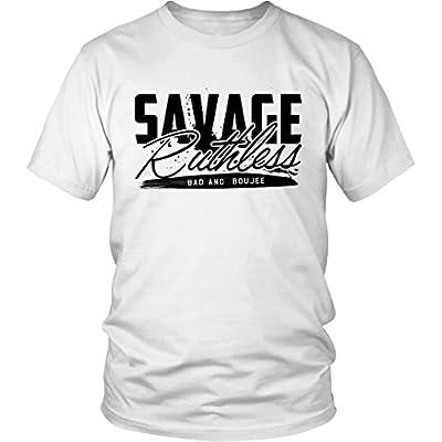 Bad and Boujee Savage Ruthless Migos Hip Hop T-Shirt