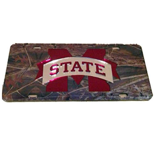 - Mississippi State Bulldogs Camo Car Tag