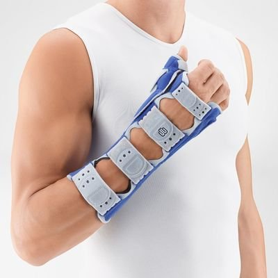 Support Wrist Bauerfeind Right - Bauerfeind 12053450082600 Manuloc Rhizo Long Wrist/Thumb Support, Right