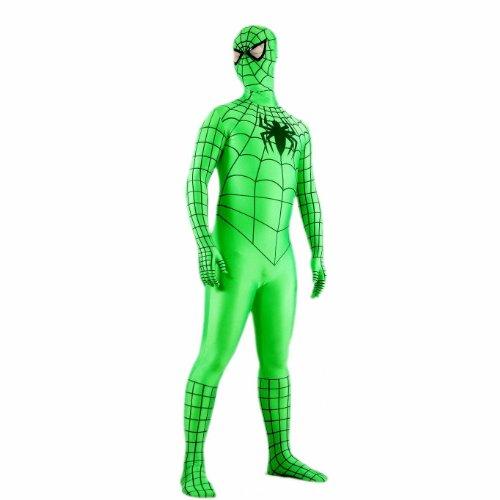 Goodsaleok Full Bodysuit Adult Halloween Cosplay Customized Costume (Superior Spider Man Halloween Costume)