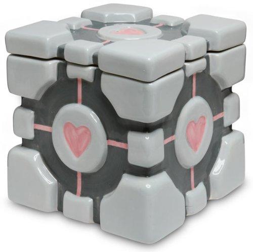 ThinkGeek - Portal 2 Cookie Jar Companion Cube