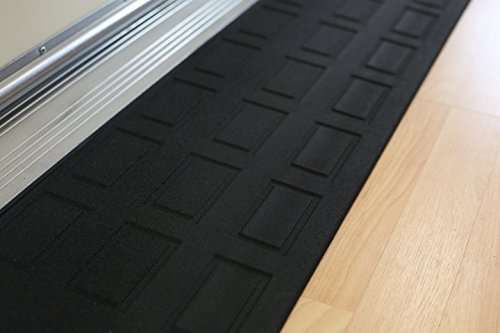 EZ Edge Transition Threshold Ramp - 1'' H x 9-3/4'' L x 46'' W by SafePath Products (Image #2)