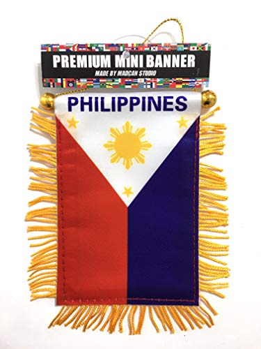 (Philippines car Flag)