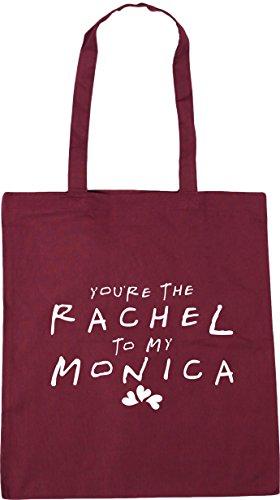 the litres my to Rachel Burgundy Gym HippoWarehouse 42cm Bag Shopping Tote Monica 10 You're x38cm Beach 6xIUw5qg
