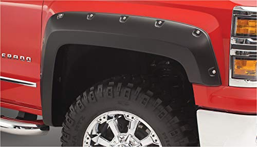 Bushwacker 40924-02 Chevrolet Pocket Style Fender Flare - Set of 4 ()