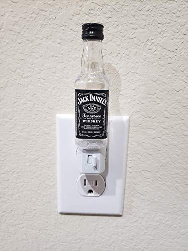 Jack Daniel's Night Light - LED, Wall Light, Plug-In Light, Gift, Home Decor, Jack Daniels, Jack Daniel, Liquor Craft, Bottle Craft