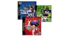 Sega Dreamcast Sports Bundle: NFL 2K1/World Series Baseball 2K1/NBA 2K1