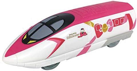 どこでもあそべるプルバック ハローキティ新幹線