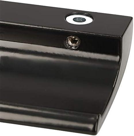 seguro para fumar terraza cierre de puerta de puerta Tirador de aluminio para puerta de balc/ón de lujo KOTARBAU mango universal