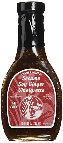 Trader Joe's Ming's Sesame Soy Ginger Vinaigrette - Sesame Soy Salad Dressing