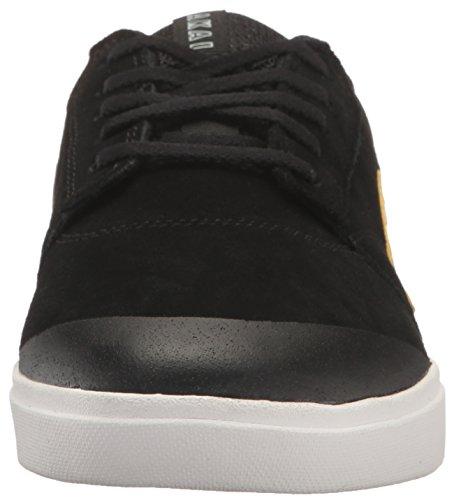 Lakai - Zapatillas de skateboarding de Piel para hombre Negro