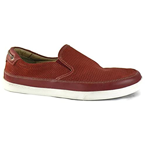 Quinton Perfed Slip-On Men's Shoes Size US 9 M Red