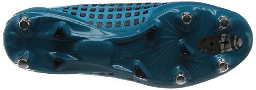 adidas Predator Malice Sg, Scarpe da Rugby Uomo Turchese (Mystery Petrol /Noble Ink /Blaze Orange )