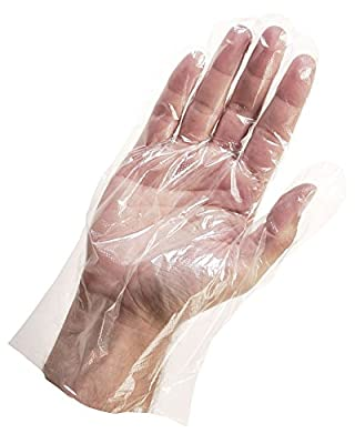 Disposable Poly PE Gloves Food Service Safety Glove Powder & Sulfur Free