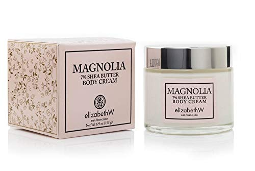 Elizabeth W, Magnolia Body Cream, 6.9 Ounces - Moisturizing Magnolia Lotion Body