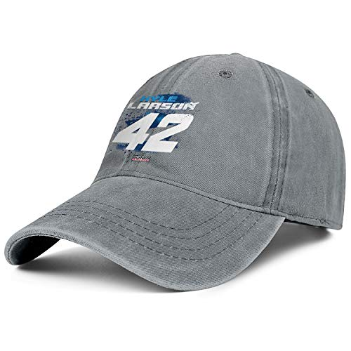 NIANLJHDe Unisex ManCool Dad Hat Packable Kyle-Larson-2019-Contender-Credit-One-NASCAR-#42- Yard Work Baseball Hat -