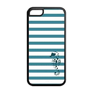 5C Phone Cases, Sea Horse Hard PC Cover Case for iPhone 5C