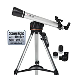Automatically Locates The Wonders Of The Universe With Its Motorized System & On Board Computer! All glass, fully coated optics reveal the depths of our solar system and the wonders of the Universe. Fully adjustable tripod features a conv...