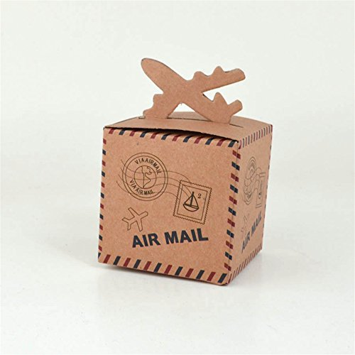 vintage airplane party favors - 9