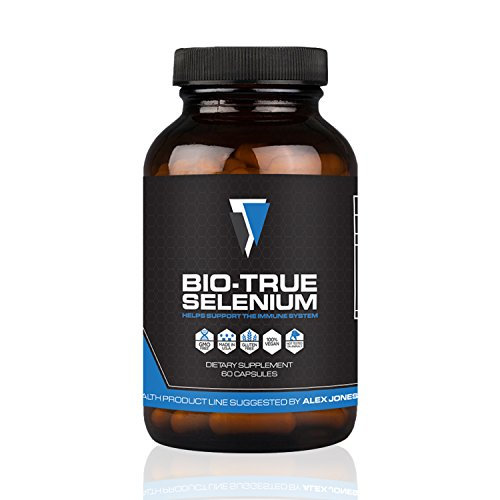 Bio True Selenium 200 Mcg  60 Capsules    Powerful Antioxidant  Thyroid Support  Improve Energy   Metabolism   Vegan  Non Gmo   Gluten Free