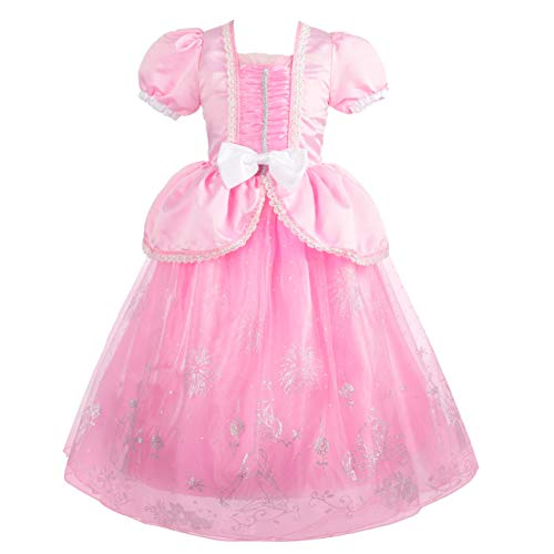 Dressy Daisy Girls Princess Ariel Dress Up Costumes Halloween Party Fancy Dress Size 4T / 5T]()