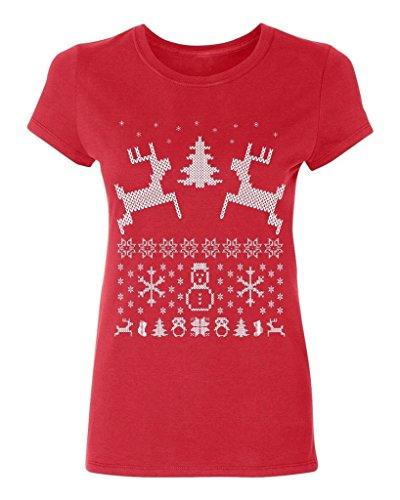 P&B Christmas Reindeer Women's T-shirt