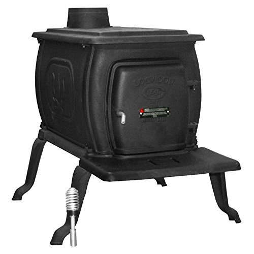 Lowest Price! US Stove EPA Certified 26 in. Cast Iron Logwood Stove
