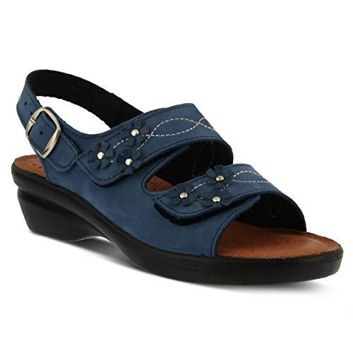 (Spring Step Flexus Women's Ceri Nubuck Slingback Sandal)