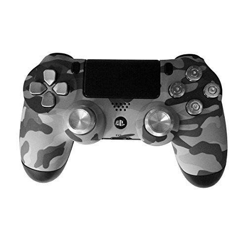 (Controller Front Shell for PS4 Controller - Case for the PS4 Controller Dualshock 4 Front Shell Replacement - Custom Cool PS4 Controller Shell Case Cover PS4 Controller Shells - Camouflage)