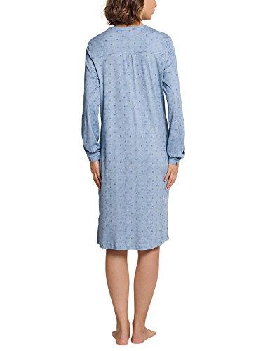 da 805 Donna Notte Camicia Hellblau Schiesser Blu 7AqP5