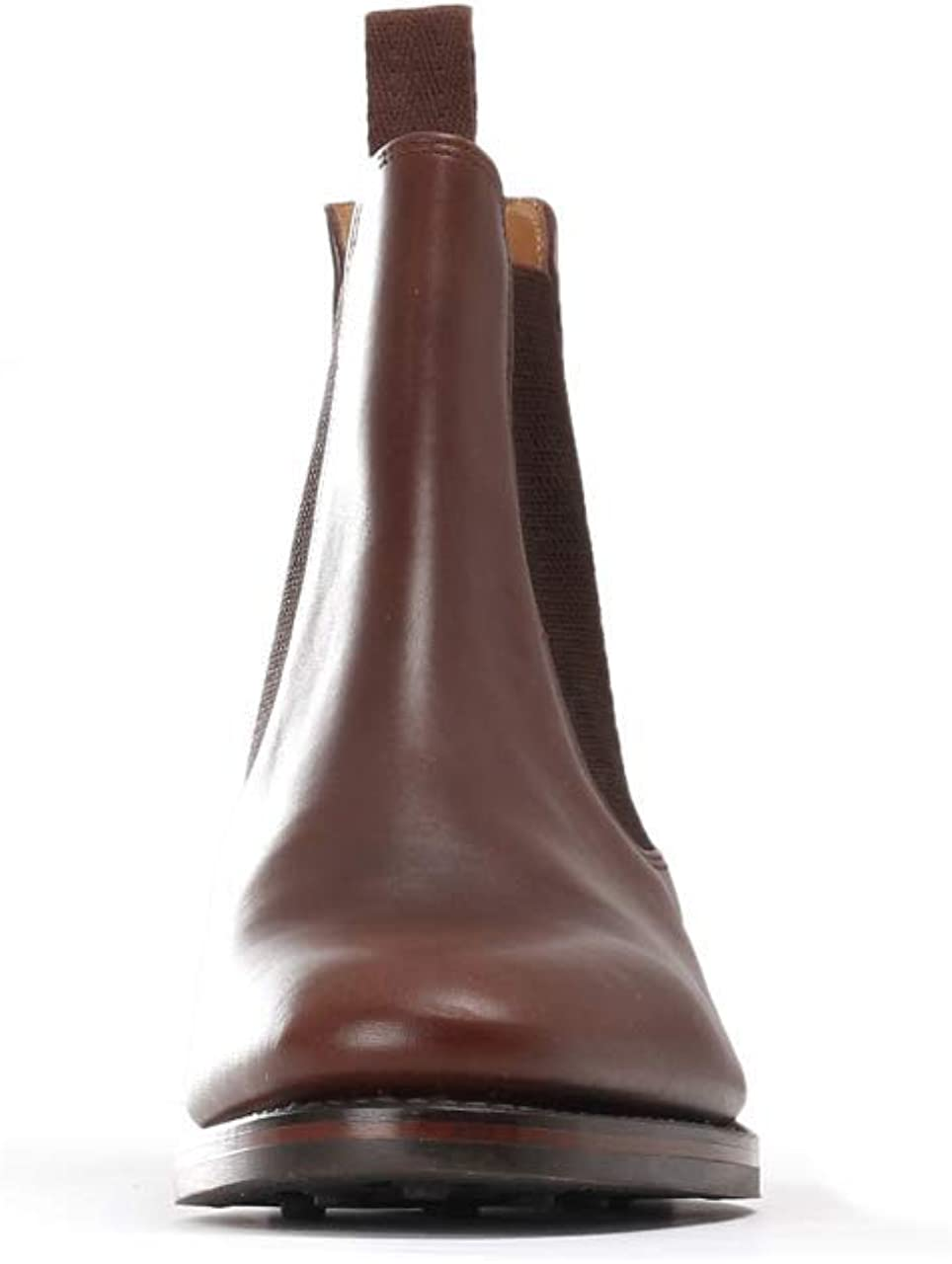Loake Blenheim Mens Chelsea Boots Brown Waxy